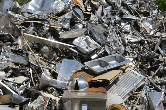 فرایند ضایعات بازیافت پذیر